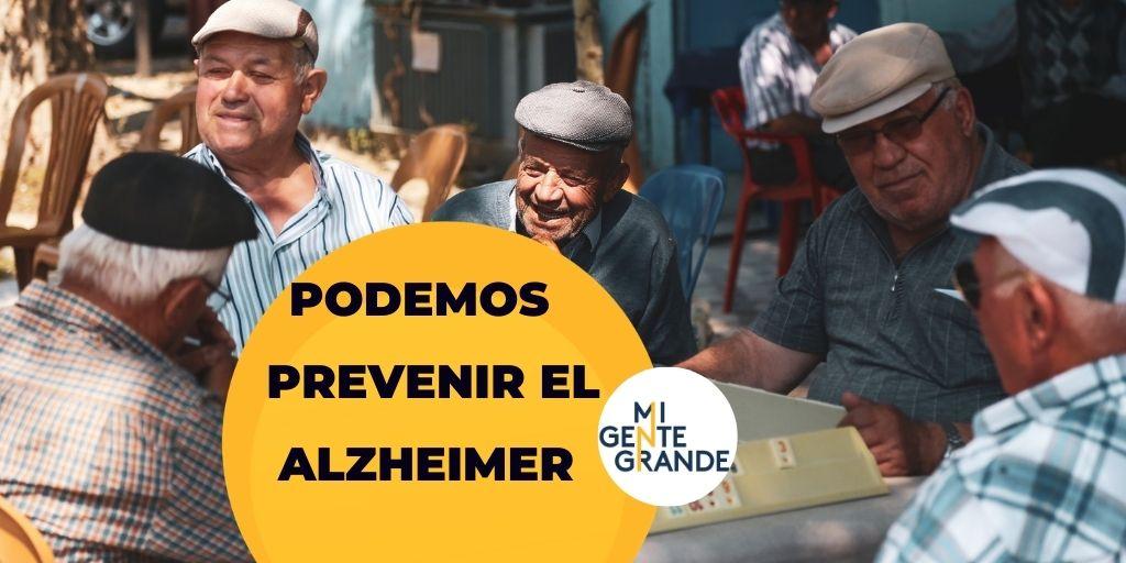 Cuidador: tú puedes prevenir el Alzheimer